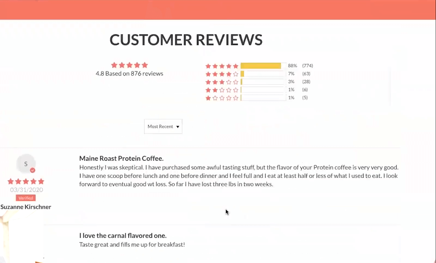 maine roast customer reviews