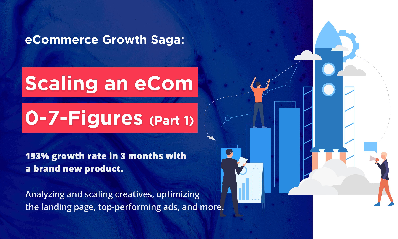 eCommerce Growth Saga: Scaling an eCom 0-7 Figures – Part 1