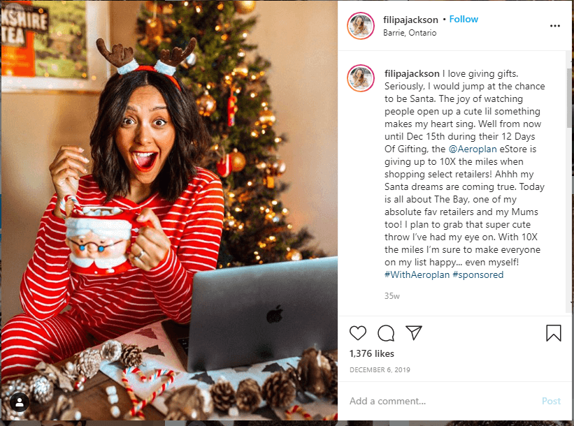 influencer sponsored post gifs
