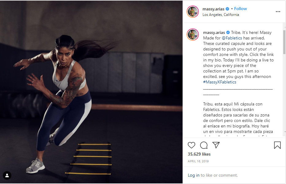 instagram influencer marketing post