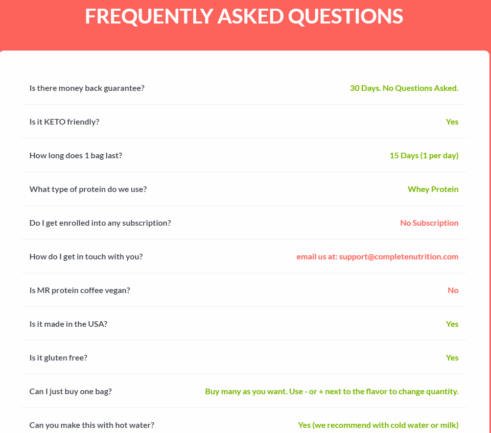 maine roast frequently asked questions