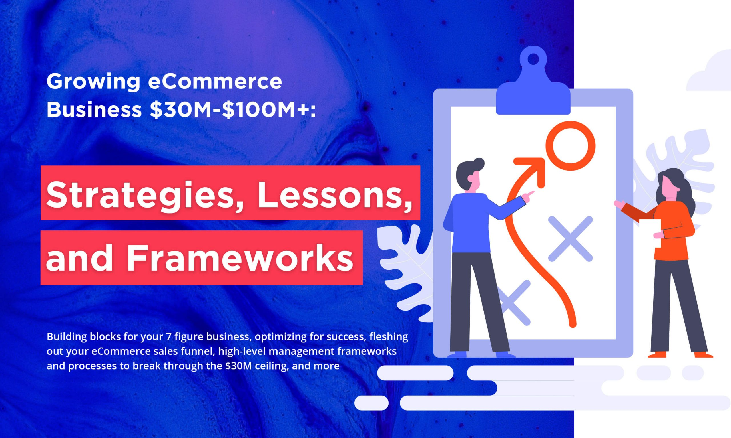 Growing eCommerce Business $30M-$100M+: Strategies, Lessons, and Frameworks