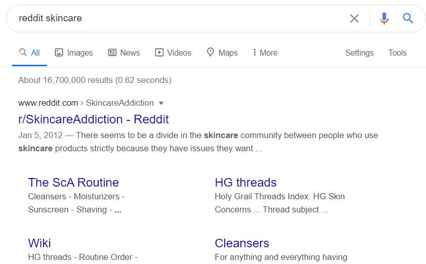 reddit-skincare-community